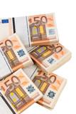 Fototapete Bank notes - Geldschein - Geld / Kreditkarte