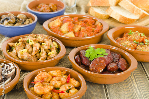 Spanish Tapas & Crusty Bread - 51415745