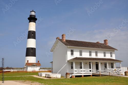 Aluminium Vuurtoren / Mill Bodie Island Lighthouse,Cape Hatteras NS,North Carolina