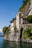 Monastery of Santa Caterina, by Lake Maggiore, Italy