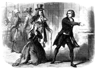 Scene : French Revolution - 18th century