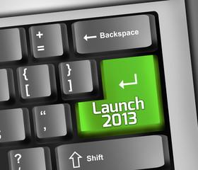 "Keyboard Illustration ""Launch 2013"""