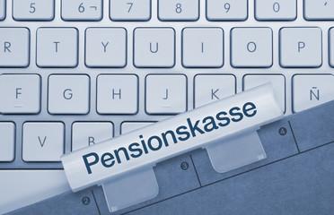 Pensionskasse Tastatur