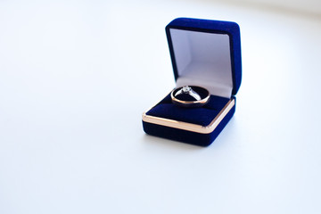 Two rings in box