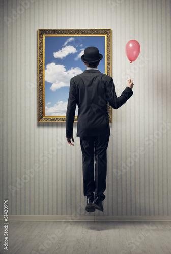 Dream of a business man