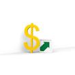 dollar, devisen, steigen,