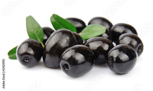 Sweet olives close up