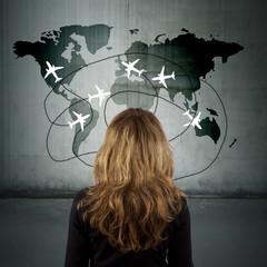 concepto de los viajes