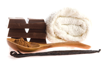 spa chocolate aromatherapy items