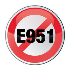 E951 ASPARTAME - attention