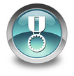 "Light Blue Glossy Pictogram ""Award Medal"""