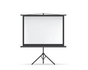 Projector screen black