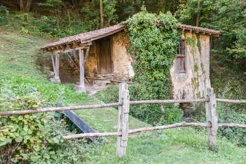 Old water mill in Galdames