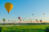 Mondial hot Air Ballon reunion in Lorraine France