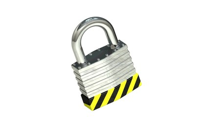 Das Sicherheitsschloss