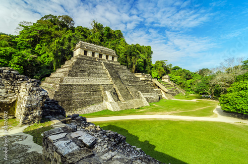 Temples in Palenque - 51426572