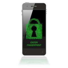 SMART FINGER green lock