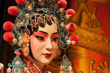 Peking opera actress