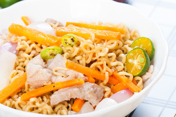 pancit canton for merienda or snacks