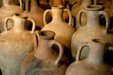 ancient Greek clay amphora