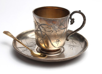 Antiquarian silver cup