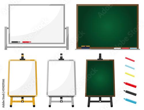 黒板 ホワイトボード イーゼル