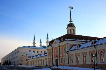 Пушечный двор на территории Казанского Кремля