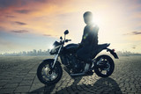 Motorbike Driver - 51433908