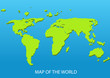 vector background with world map and place for text