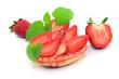 Dessert, Erdbeeren