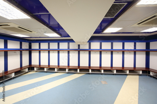 Cloakroom in Stadium