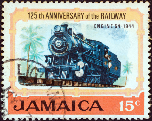 Steam locomotive No. 54 of 1944 (Jamaica 1970)