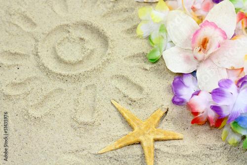 sable  et coquillage