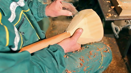 Creation of  folk musical instrument