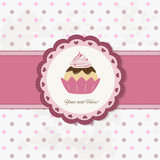 cake design - cupcake background