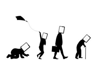 da piccoli ad anziani con tablet