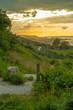 Asturias, setting sun