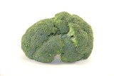 Fresh broccoli vegetable isolated on white background