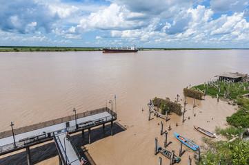 Paraná River as it passes through Rosario.