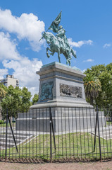 General Jose de San Martín statue in Rosario.
