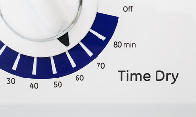 Timer on Dryer