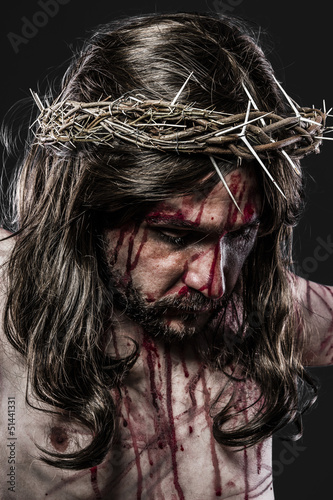 representation of the Passion of Jesus Christ