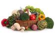 arrangement of raw vegetable
