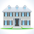 Suburban dream house