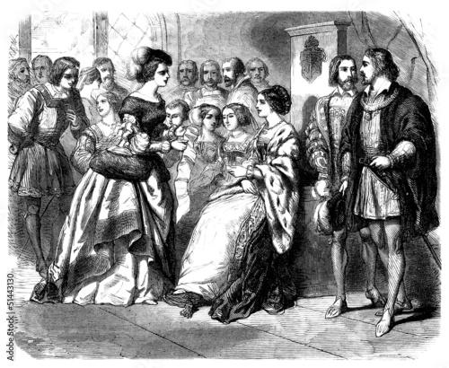 Court Scene - Renaissance - Scène de Cour - 16th century