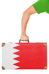 The Bahraini flag