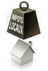 Impôts locaux tombant sur les ménages