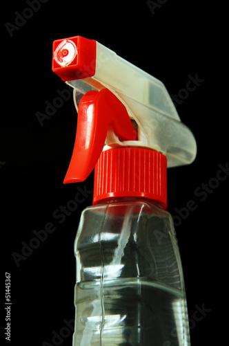 bottles of detergent.