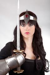 Princess with a sword