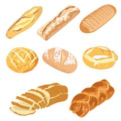 Pan, hogazas y roscas